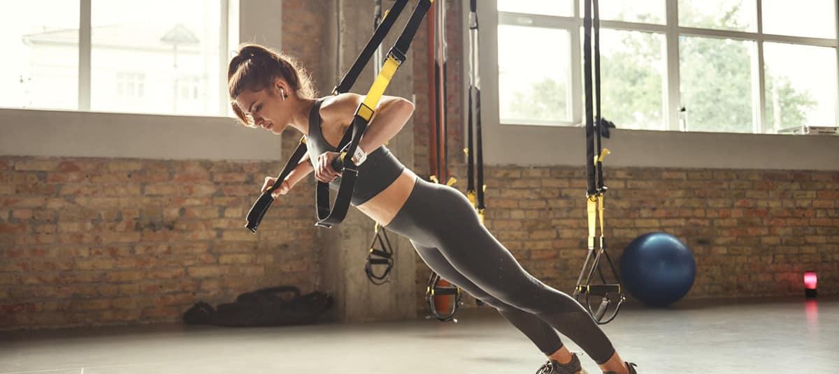 Musculation avec le TRX
