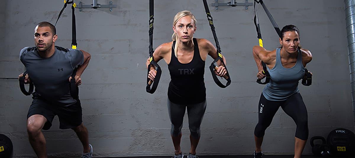 Programme de musculation avec TRX