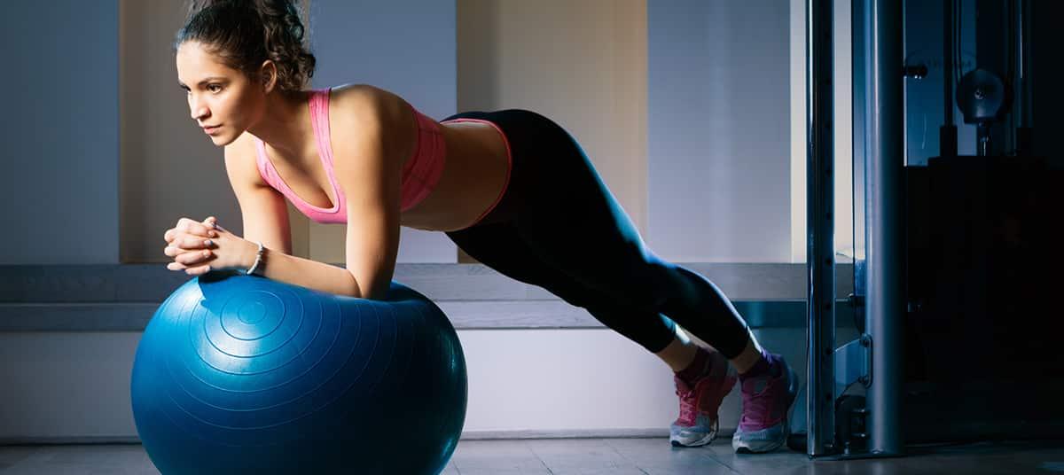 musculation avec Swissball