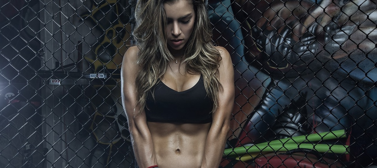 Anllela Sagra model fitness