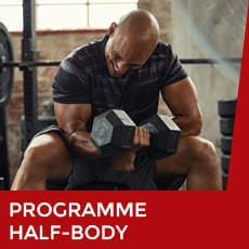 Programme musculation half-body
