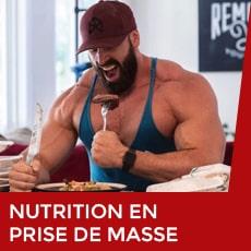 nutrition en prise de masse
