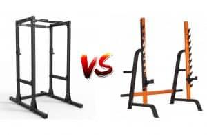 cage à squat ou rack à squat
