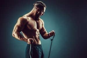 élastiques de musculation