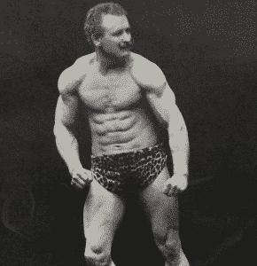 Eugen Sandow origine du dopage